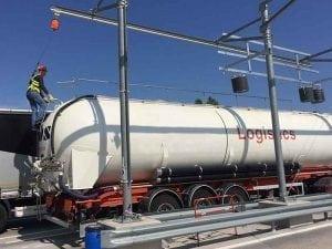 sécurisation accès camion et travail sur camion