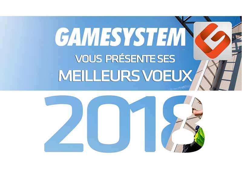 gamesystem vous souhaite bonne année