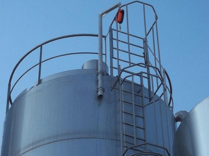 echelle crinoline pour accès en hauteur