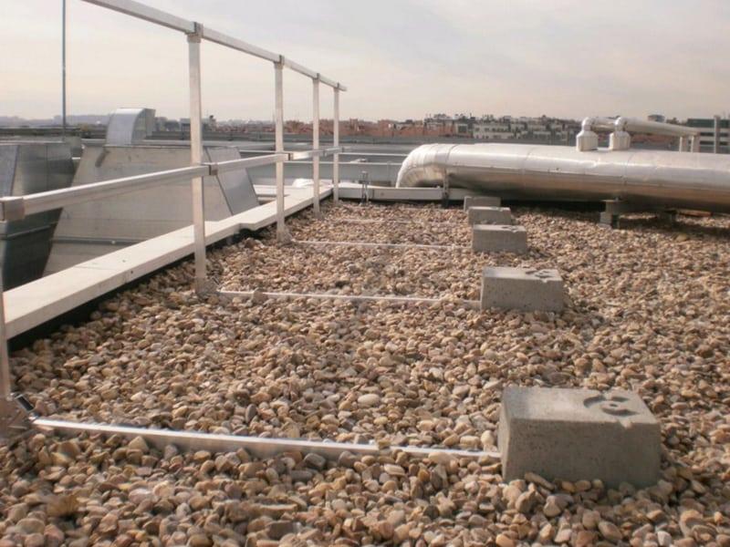 garde corps extérieur sur toiture