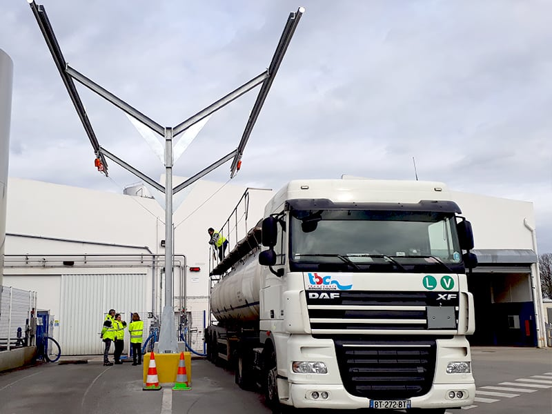 effectuer des opérations en sécurité sur camion