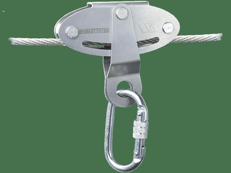 cable de sécurité avec charriot