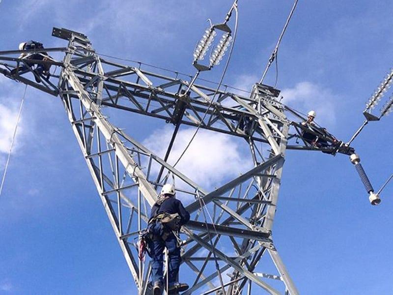 formtion à la Sécurité du travail en hauteur sur pylône T.H.T
