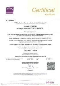 Certification ISO 9001 Image