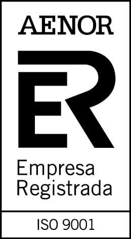 AENOR, conforme con la Norma ISO 9001 2015