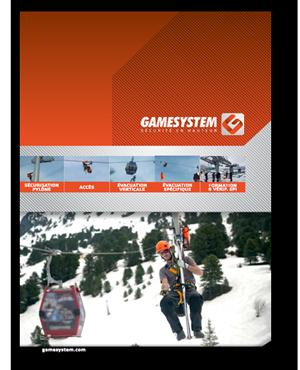 Catalogue montagne évacuation de téléportés - Gamesystem Ropeway